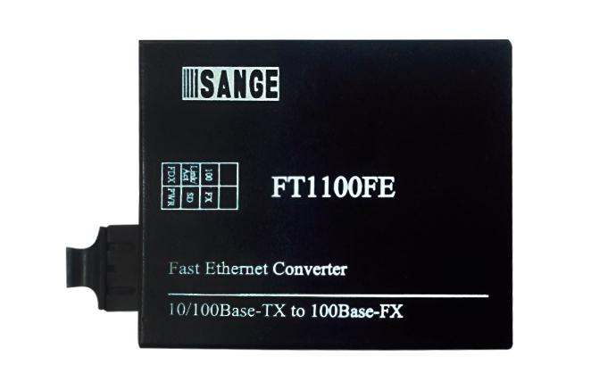 双纤双向 100M 光纤收发器