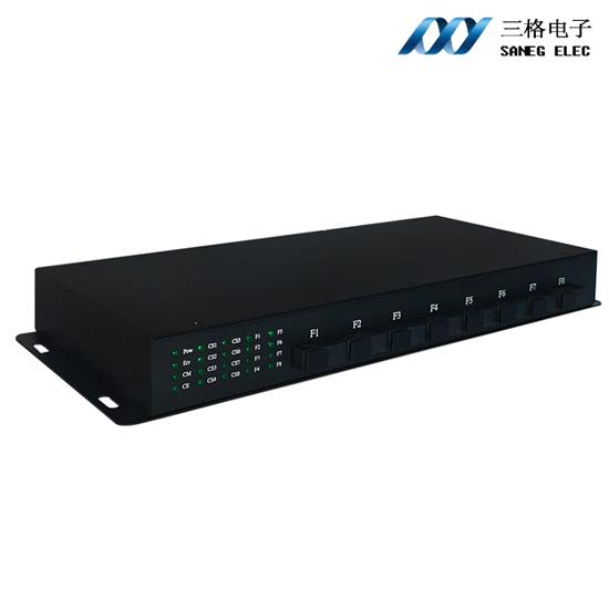 8通道CAN转光纤集线器