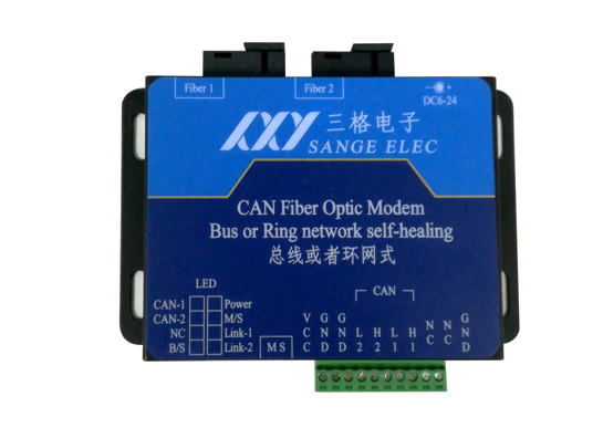 CAN转光纤_CAN光猫(总线式或环网式)