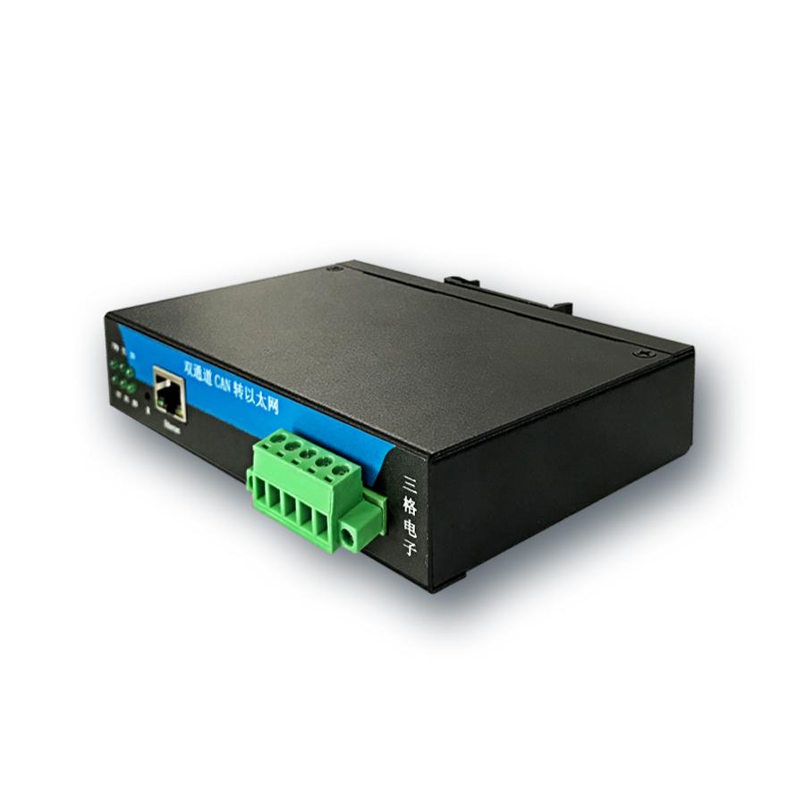 双通道CAN转以太网服务器工业级